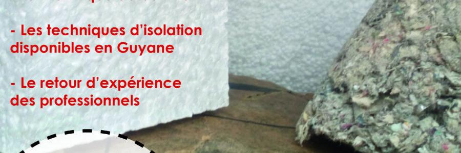 Rencontre entre professionnels sur l'isolation